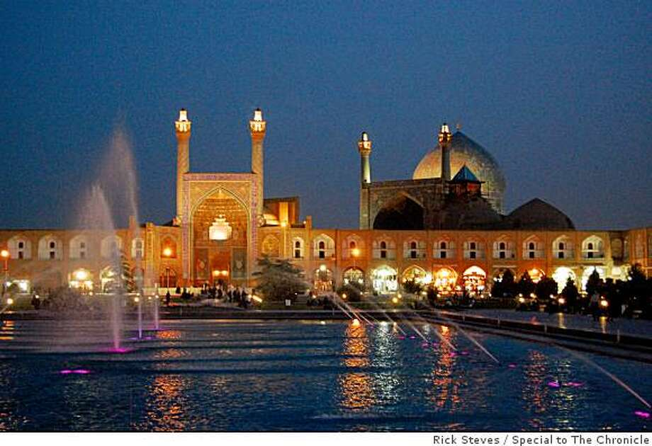 Esfahan's great Imam Mosque is both a tourist attraction and a vibrant place of worship. Photo: Rick Steves, Special To The Chronicle