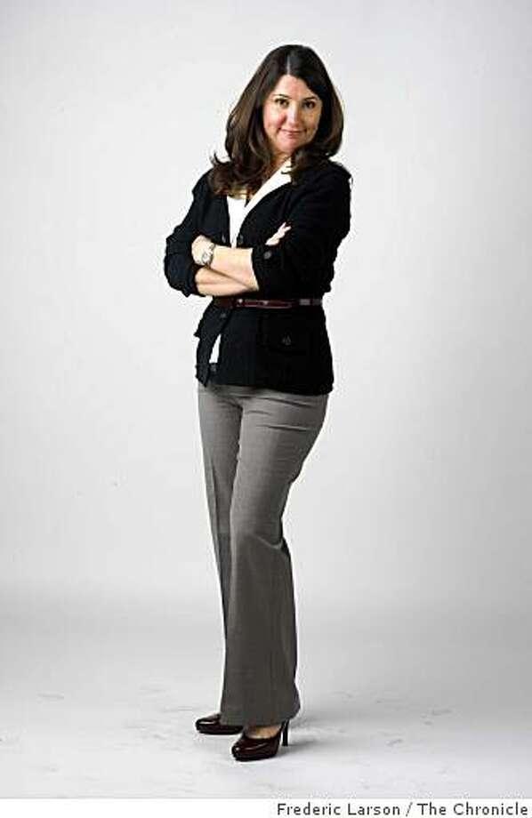 Portrait of Ashley Roi Jenkins for the H&G's Stylemaker Spotlight series taken on February 27, 2009. Photo: Frederic Larson, The Chronicle