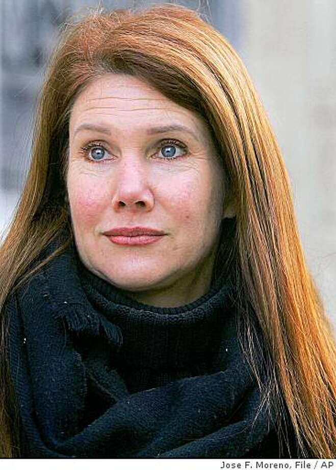 ** FILE ** In this Feb. 22, 2006 file photo, animal activist Pamelyn Ferdin poses outside federal court in Trenton, N.J.  (AP Photo/ Jose F. Moreno, file) Photo: Jose F. Moreno, File, AP