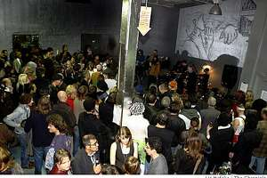 Inspired by the DeYoung Museum's current Warhol Exhibit, the East Bay Express and Amoeba Music turned an East Bay warehouse into Andy Warhol's Factory for a party in Emeryville, Calif.