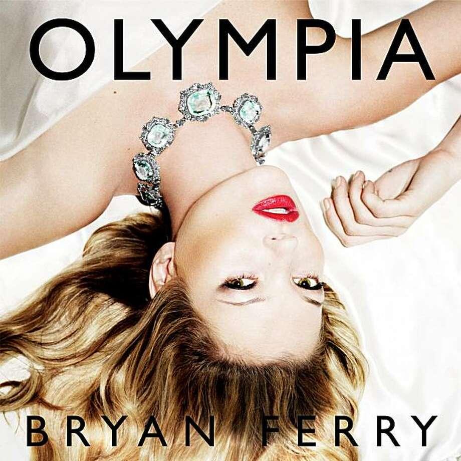 Bryan Ferry, 'Olympia' cover art Photo: Emi