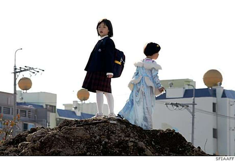 """Treeless Mountain"": Hee Yeon Kim as Jin, Song Hee as Bin Photo: SFIAAFF"