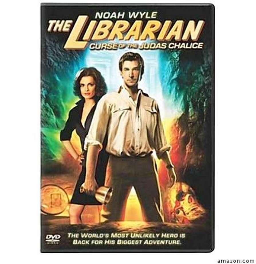 dvd cover THE LIBRARIAN: CURSE OF THE JUDAS CHALICE Photo: Amazon.com