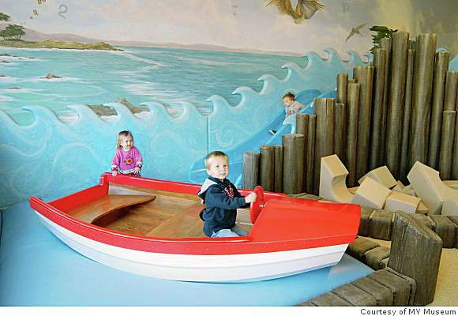 The MY Day at the Beach exhibit at MY Museum in Monterey, a learning center for kids.Monterey -- MY Museum for children reopened in its new home in November 2008.Courtesy of MY Museum ONE-TIME USE ONLY Photo: My Museum, Courtesy Of MY Museum
