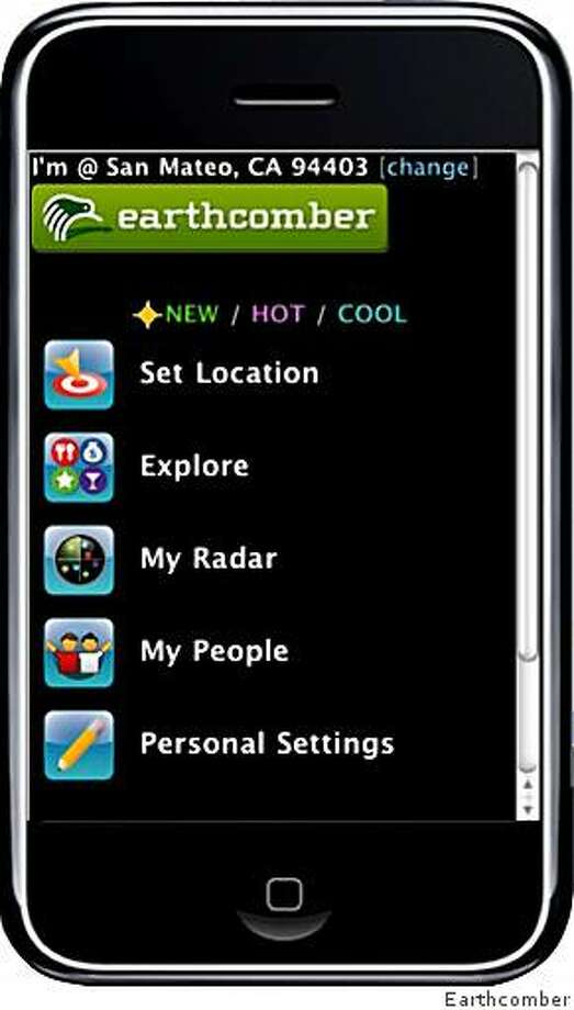 Earthcomber is the app of the day for March 11, 2009. Photo: Earthcomber