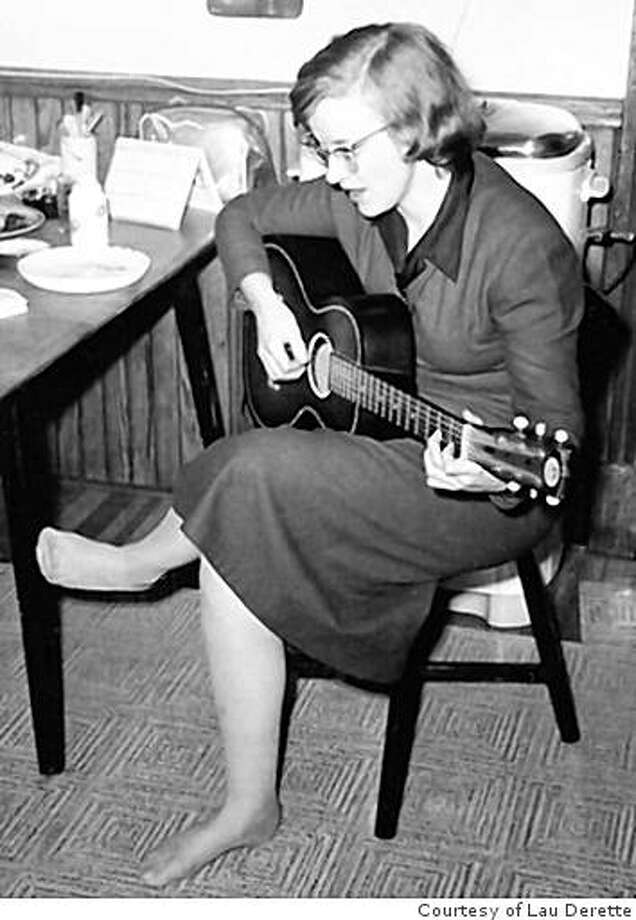 Connie Converse, New York, circa 1956 Photo: Courtesy Of Lau Derette