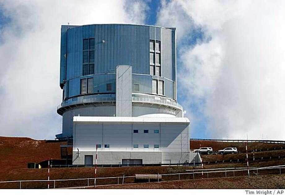 The Subaru Telescope, perched atop the summit of Mauna Kea mountain is shown May 24, 2005, in Hawaii. Photo: Tim Wright, AP
