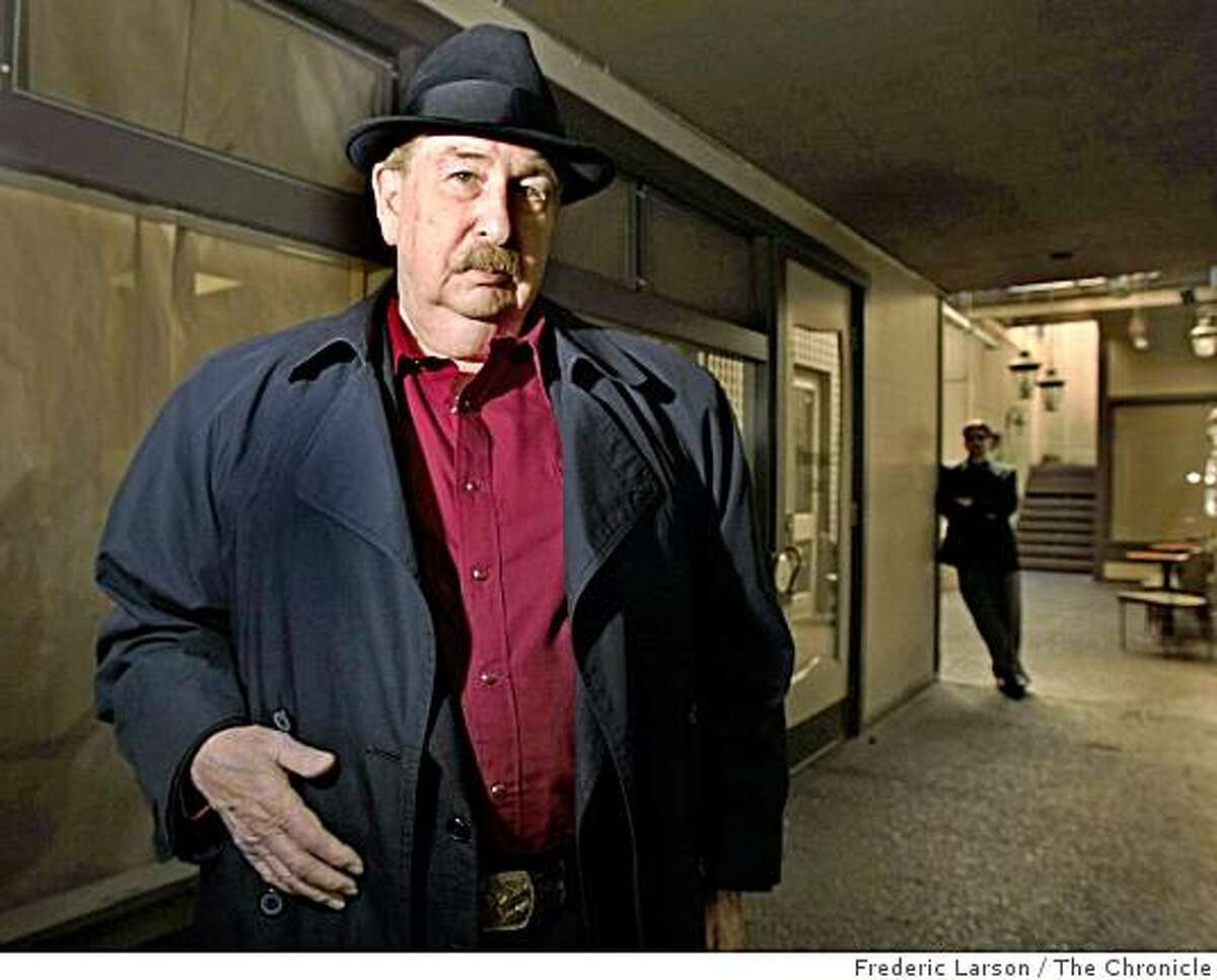 Jack Immendorf a San Francisco private detective, is photographed at his office on Filmore Street in San Francisco, March 5, 2009.
