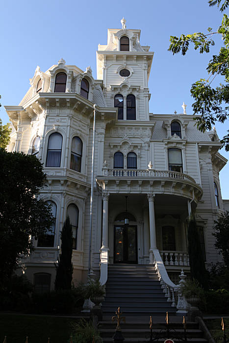 Governor S Mansion Empty In Sacramento Sfgate