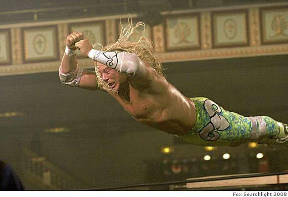 "Mickey Rourke in ""The Wrestler."" Photo: Fox Searchlight 2008"