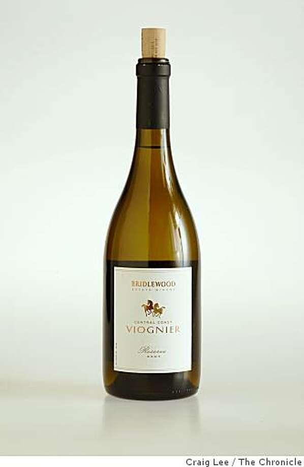 2007 Bridlewood Estate Winery Reserve Central Coast Viognier in San Francisco, Calif., on March 5, 2009 Photo: Craig Lee, The Chronicle