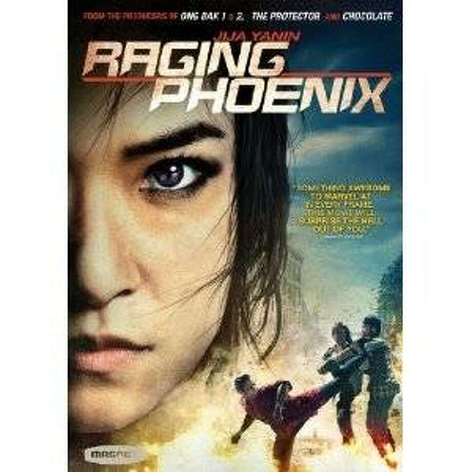 dvd cover RAGING PHOENIX Photo: Amazon.com