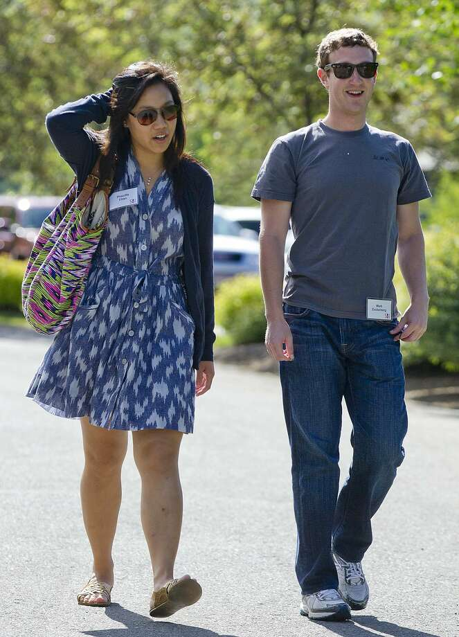 Facebook's 1st couple post top philanthropy amount