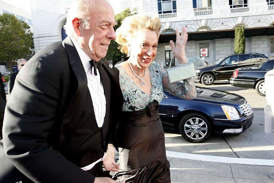 This power couple continues to dominate San Francisco social events and it's no surprise given their background. Charlotte Shultz is an heiress and socialite who served on many boards and chaired countless events in the city while George Shultz is the former Secretary of State.  The well-connected couple have busy social schedules, including attending White House state dinners and various charity events to name a few. Photo: Katy Raddatz, The Chronicle