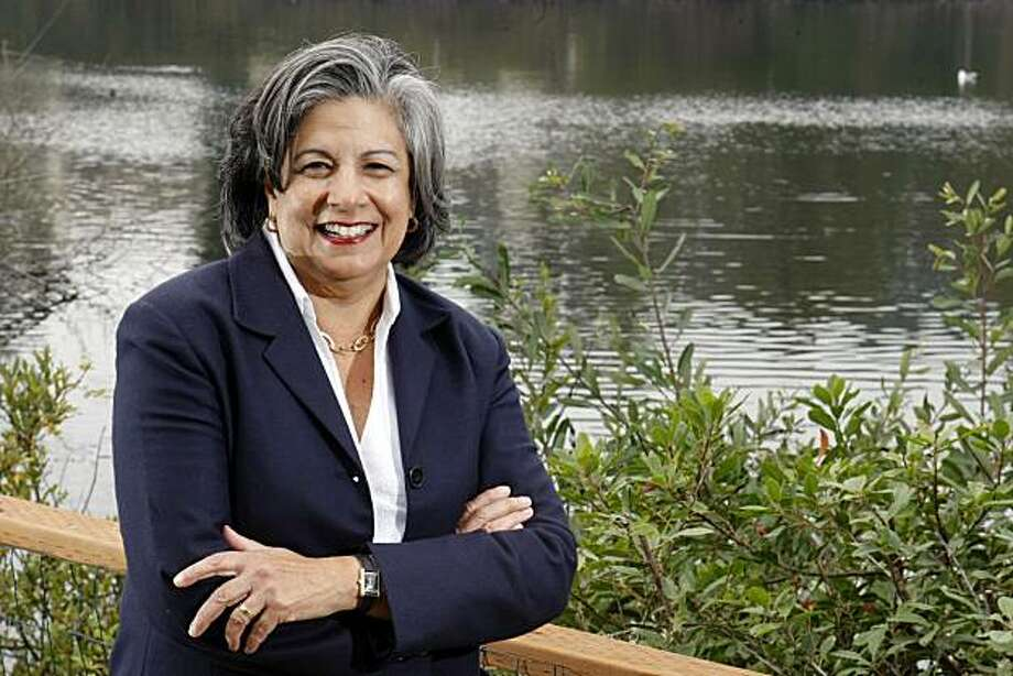 Susan Leal a former SF supervisor, mayoral candidate, and former head of the PUC posses at Mountain Lake Park Tuesday, October 19, 2010, San Francisco, Calif. Photo: Adm Golub, The Chronicle