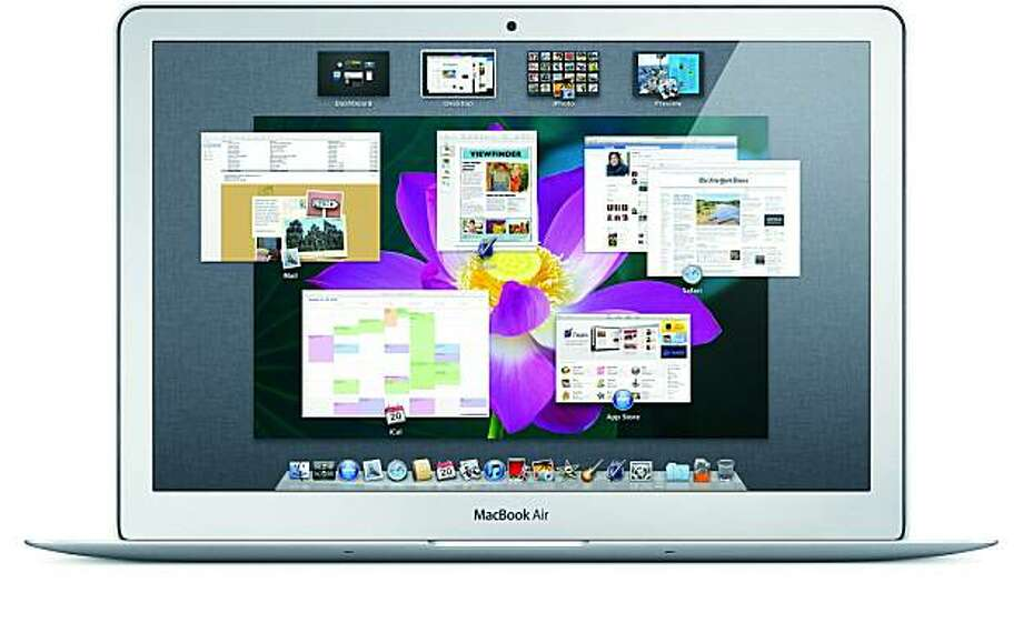 handout image of the new os x lion system Photo: Apple