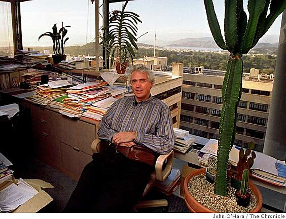 Dr. Douglas Hanahan, in photo from Dec. 23, 1996. Photo: John O'Hara, The Chronicle