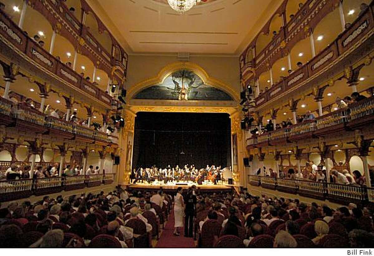 Heredia Theater in Cartagena, Colombia