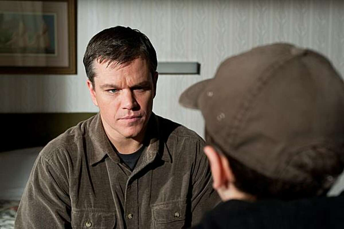 MATT DAMON as George Lonegan in Warner Bros. Pictures' drama �