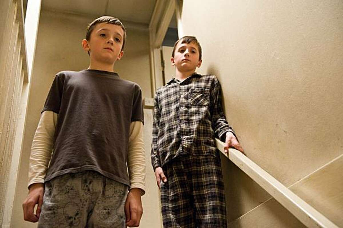 FRANKIE and GEORGE McLAREN as Marcus and Jason in Warner Bros. Pictures' drama �