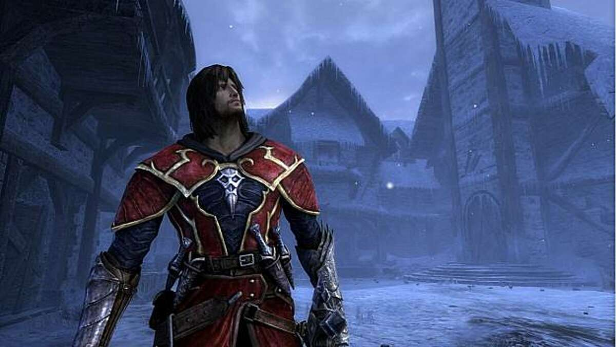 Robert Carlyle lends a quiet confidence to the voice of Gabriel Belmont in Castlevania: Lords of Shadow.