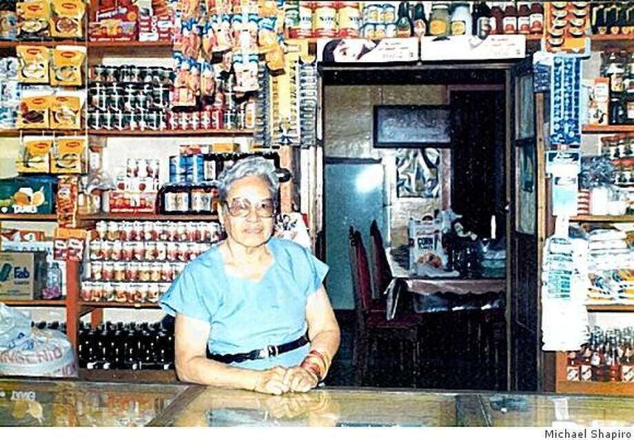 1990 shot of Dona Marta which shows the store out front and the home within. Photo: Michael Shapiro