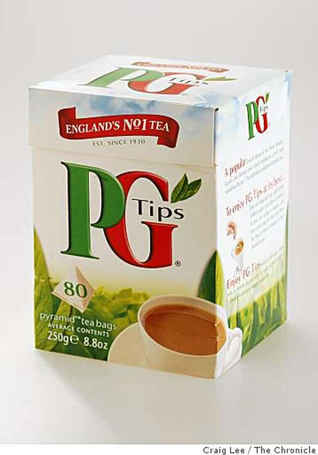 PG Tips in San Francisco, Calif., on February 26, 2009. Photo: Craig Lee, The Chronicle