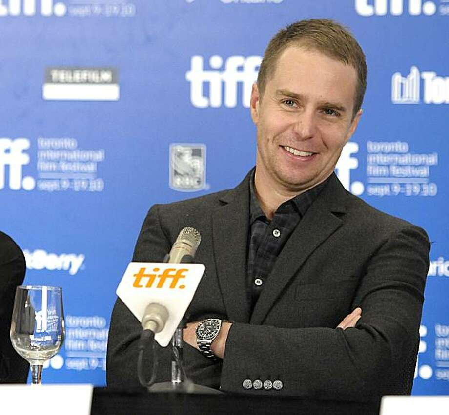 """Actor Sam Rockwell at a news conference for the feature film """"Conviction"""" during the Toronto International Film Festival in Toronto on Monday, Sept. 13, 2010. Photo: Dan Steinberg, AP"""
