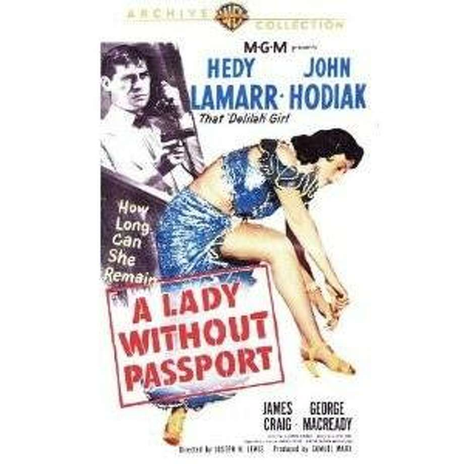 dvd cover LADY WITHOUT A PASSPORT Photo: Amazon.com