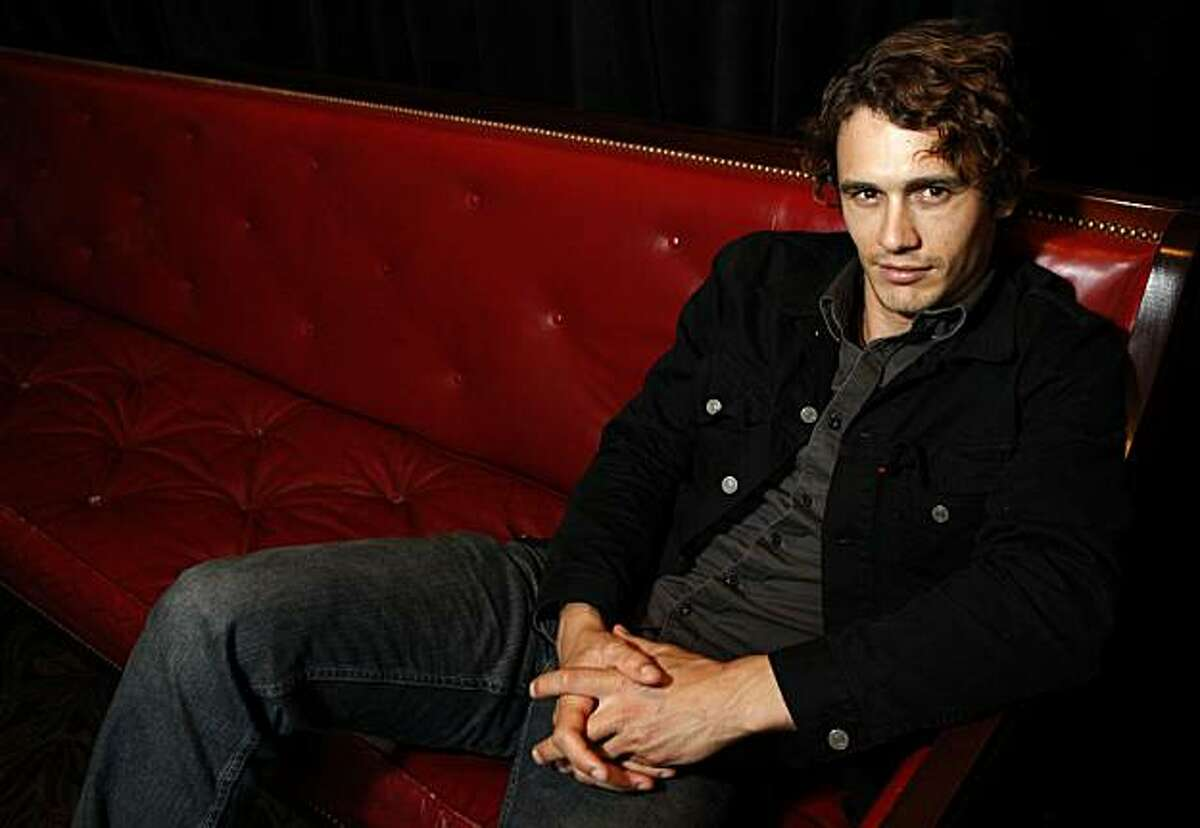 Actor James Franco sits for a portrait at the Castro Theater on Sunday, June 27, 2010 in San Francisco, Calif. Franco stars in the new film, Howl, directed by Rob Epstein and Jeffery Friedman.