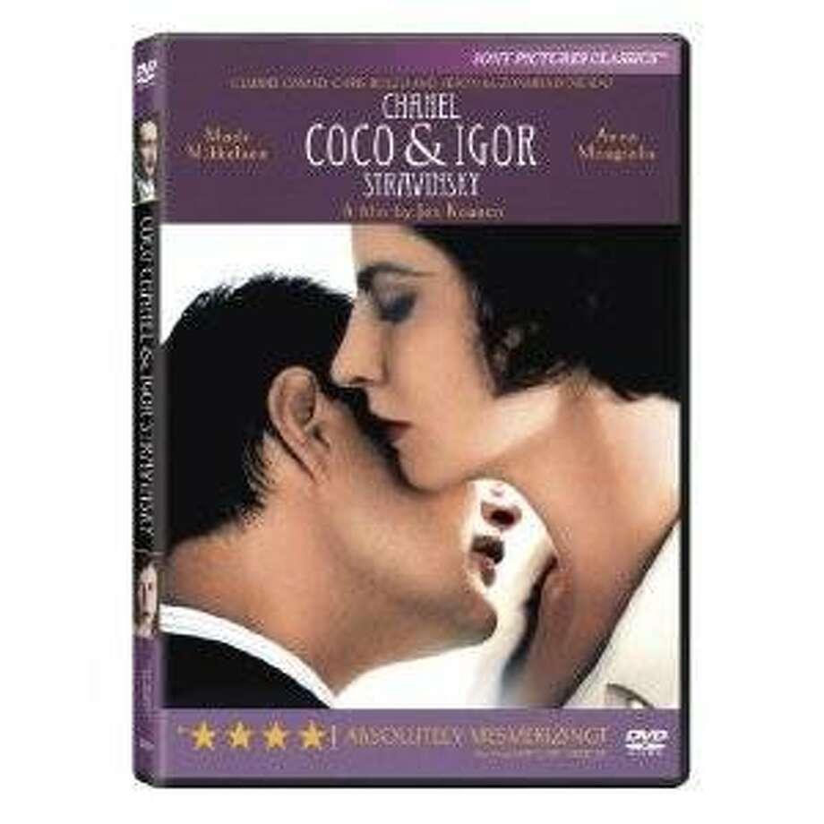 dvd cover COCO CHANEL & IGOR STRAVINSKY Photo: Amazon.com