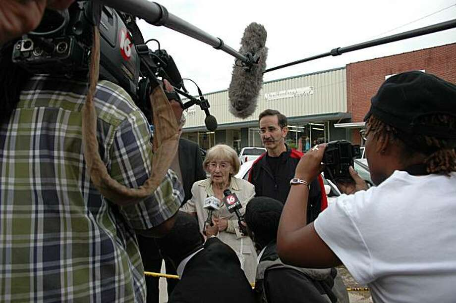 "The family of murdered civil rights worker Andrew Goodman is interviewed in Neshoba County, Mississippi, in the film ""Neshoba."" Photo: Courtesy San Francisco DocFest"
