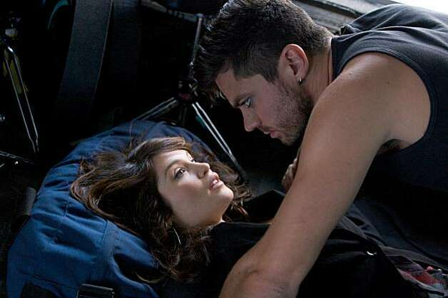 "Gemma Arterton as Tamara Drewe and Dominic Cooper as Ben Sergeant appear in a scene in, ""Tamara Drewe."" Photo: Kerry Brown, Sony Pictures Classics"