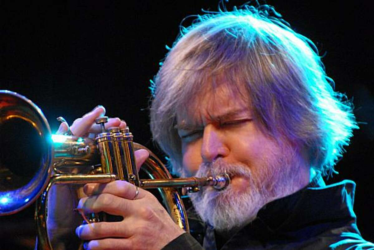 Jazz composer and trumpet player Tom Harrell.