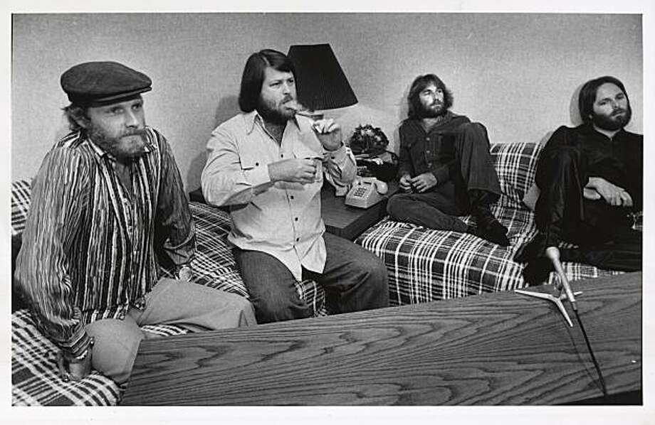 The Beach Boys.  Photo was taken 1/30/84. Photo: Susan Gilbert, SF Chronicle