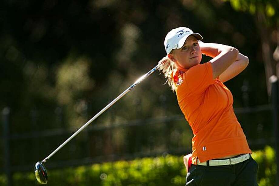 DANVILLE, CA - OCTOBER 15: Stacy Lewis follows through on a tee shot during the second round of the CVS/Pharmacy LPGA Challenge at Blackhawk Country Club on October 15, 2010 in Danville, California. Photo: Darren Carroll, Getty Images