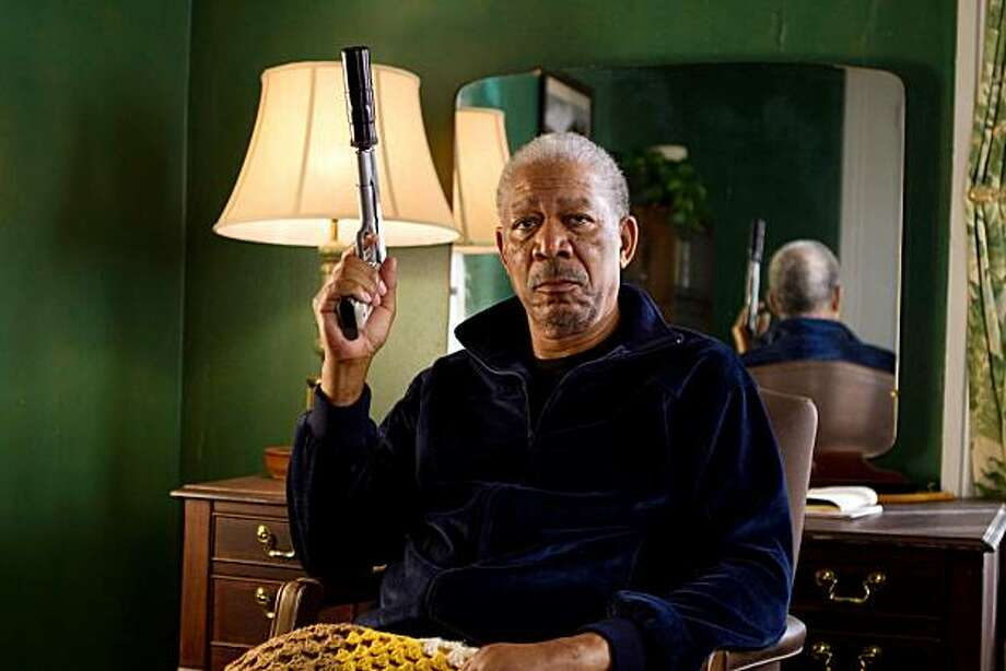 MORGAN FREEMAN stars in RED. Photo: Frank Masi, Summit Entertainment, LLC.