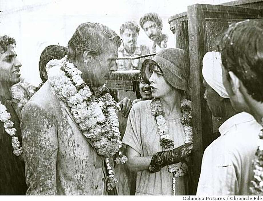 """bollywood22_SD_india4.jpg 1984 - James Fox and Judy Davis in """"A Passage to India,"""" a 1984 film by David Lean..Columbia Pictures/Chronicle File Photo: Columbia Pictures, Chronicle File"""