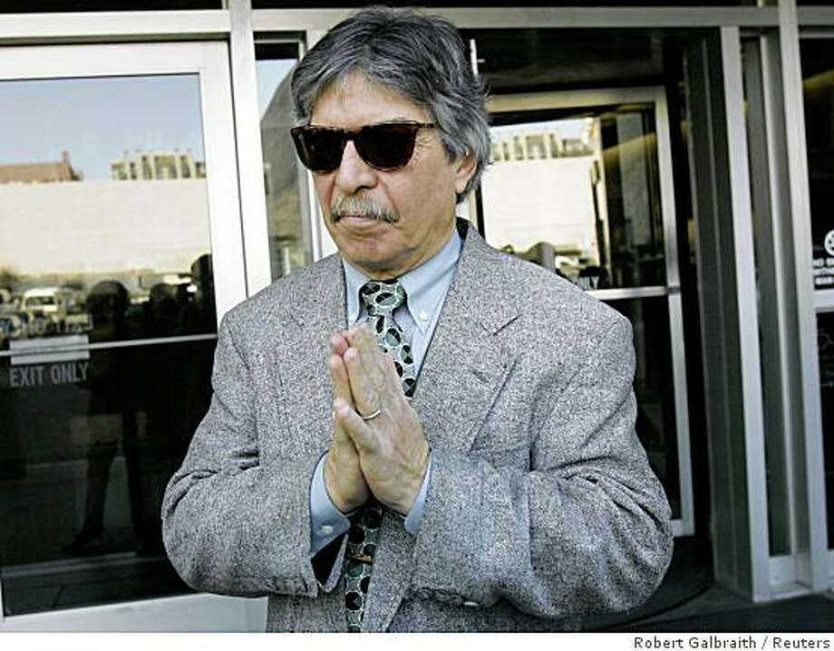 John Cota, the pilot of the container ship that spilled more than 50,000 gallons of fuel oil into San Francisco Bay last year, departs the federal courthouse after pleading not guilty to charges of criminal negligence and violating environmental laws, in San Francisco, California March 21, 2008. REUTERS/Robert Galbraith (UNITED STATES) Photo: Robert Galbraith, Reuters