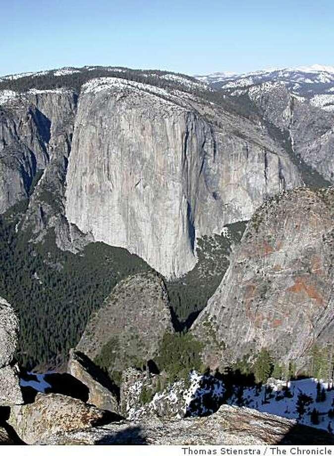 El Capitan in Yosemite. Photo: Thomas Stienstra, The Chronicle
