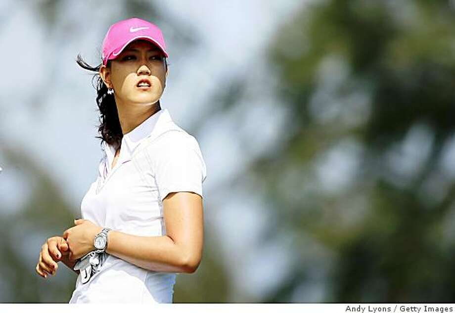 KAHUKU, HI - FEBRUARY 14:  Michelle Wie is pictured on the 3rd hole during the final round of the SBS Open on February 14, 2009 at the Turtle Bay Resort in Kahuku, Hawaii.  (Photo by Andy Lyons/Getty Images) Photo: Andy Lyons, Getty Images