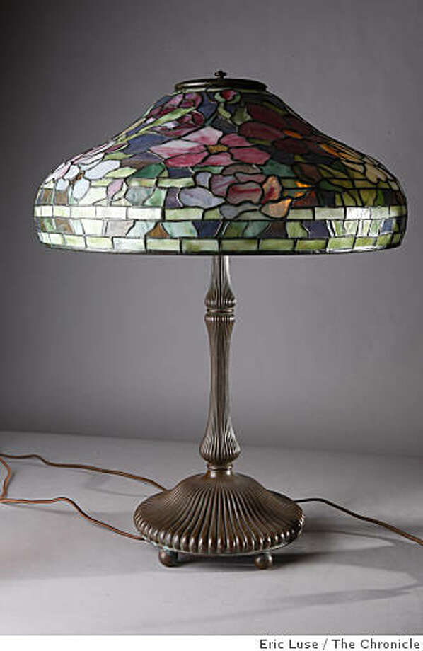 18 peony tiffany lamp at antique traders in san francisco has the largest collection of
