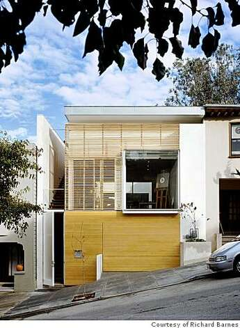 1532 Cole, a house by Fougeron Architecture, is a favorite of San Francisco Planning Director John Rahaim. Photo: Courtesy Of Richard Barnes