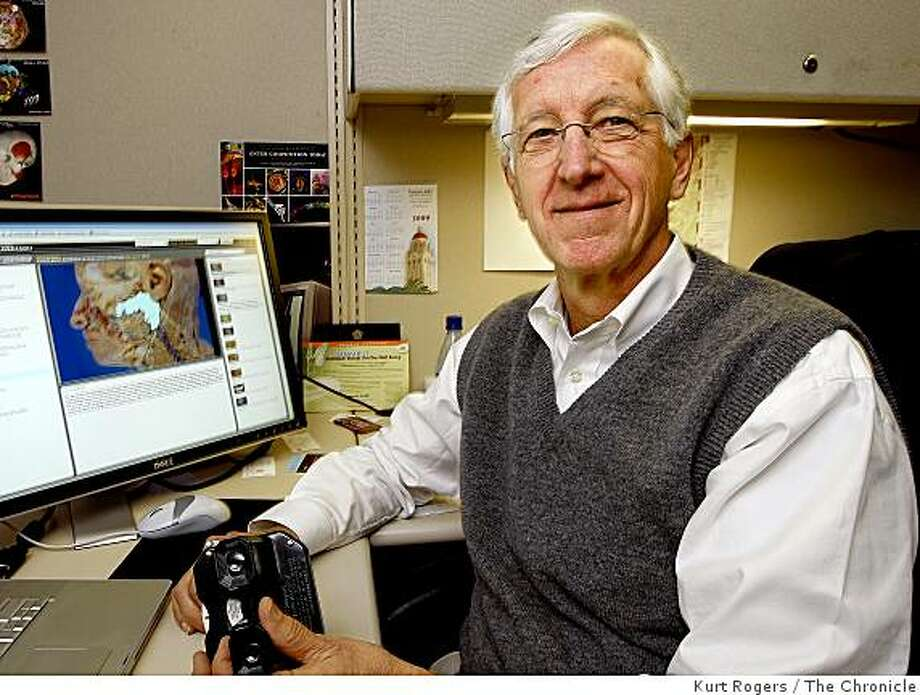 Dr Paul Brown who has computerized a series of old anatomy slides from the Bassett Collection. They were first done for the View-Master. Now anyone can view them on his website. . on Thursday   Feb 12,  2009 in Palo Alto , Calif Photo: Kurt Rogers, The Chronicle