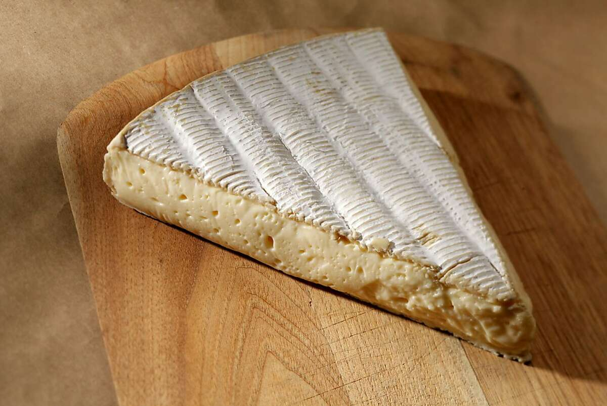 Brie l'Original cheese from France as seen in San Francisco, California on Wednesday, January 25, 2012.