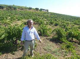 Giuseppe Tasca, proprietor of Tasca d'Almerita, one of Sicily's best white wine producing labels, at his Regaleali estate.