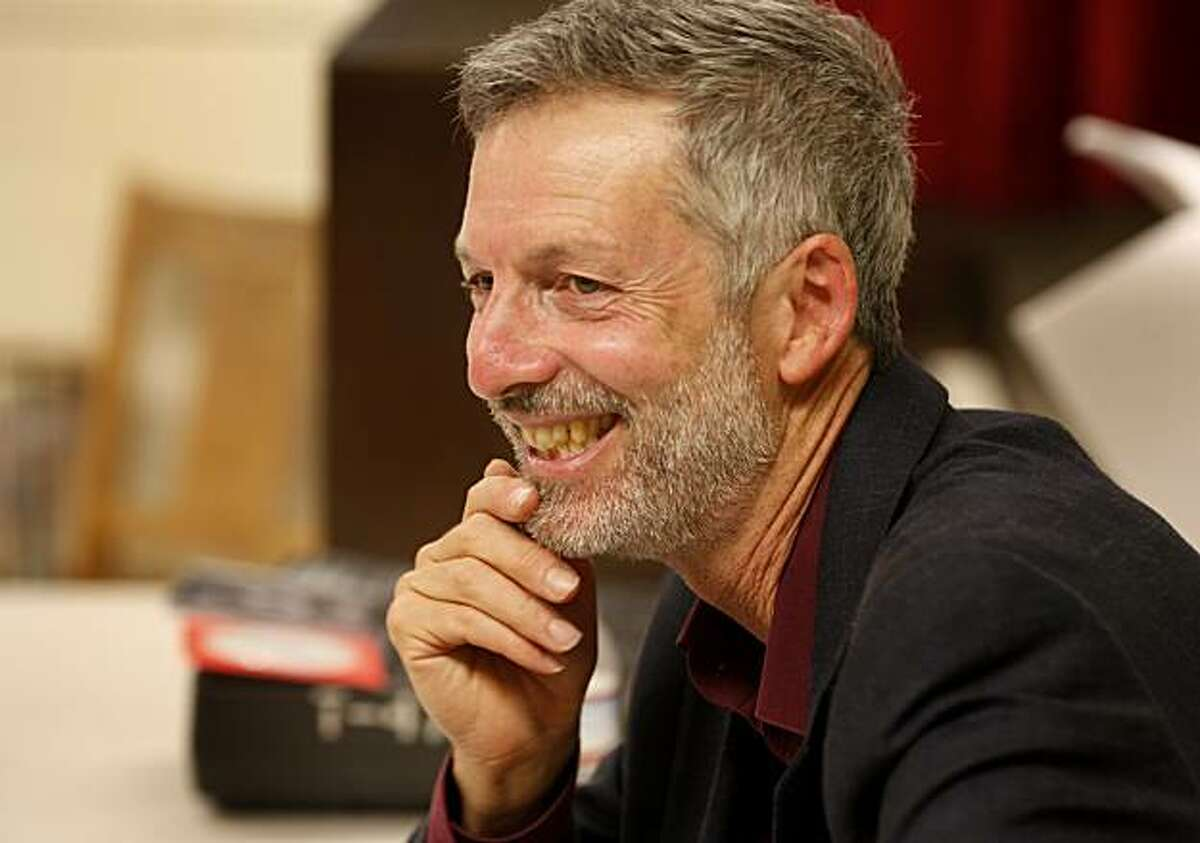 Professor Joel Schechter smiles as he watches the play rehearsal in his classroom Wednesday September 29, 2010. Joel Schechter, the theatre arts professor at San Francisco State University, believes that federal stimulus funds should be used to start a Works Progress Administration-type program to support the arts during the current recession.