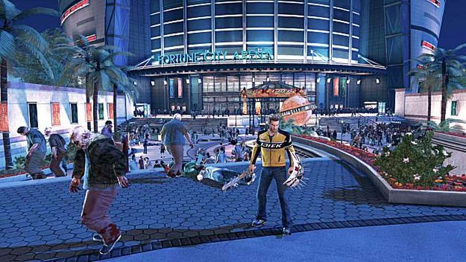 Dead Rising 2 by Capcom features innovative ways to kill zombies in Las Vegas. Photo: Capcom