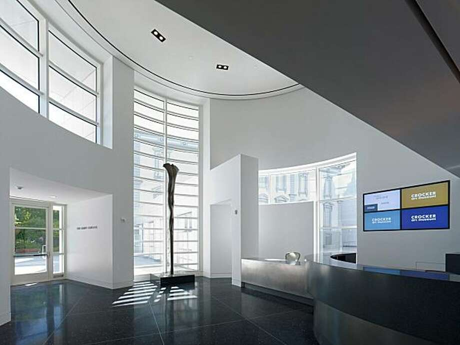 Crocker art museum a lesson in 1st impressions sfgate for Architecture firms sacramento