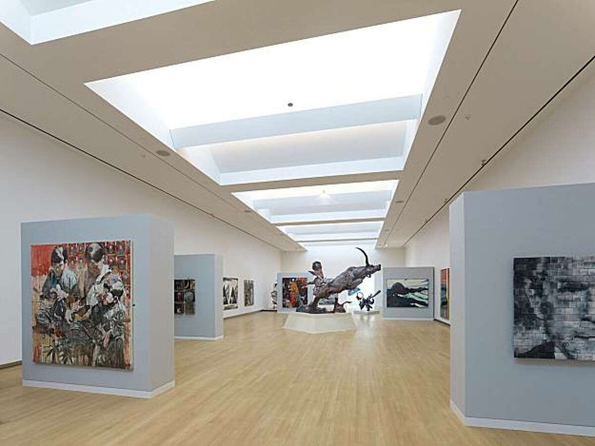 The Crocker Art Museum in Sacramento on Oct. 10, 2010 will reopen with a 125,000 square foot addition designed by the New York firm Gwathmey Siegel & Associates Architects.